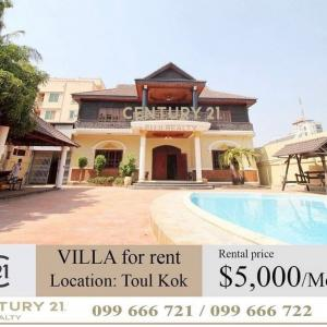 Villa for rent in Toul kok area