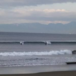 1月26日湘南鵠沼の波情報