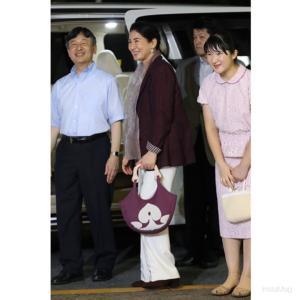 皇后陛下・雅子さまのハワイアンキルトバッグ★家族