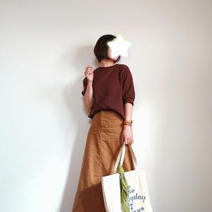 25年前のマキシ丈スカート