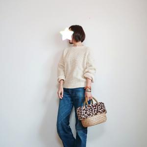 昨年モデルのGUワッフルセーター