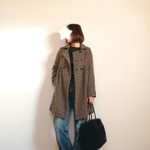 やっぱり可愛い古着で見つけたレトロなコート