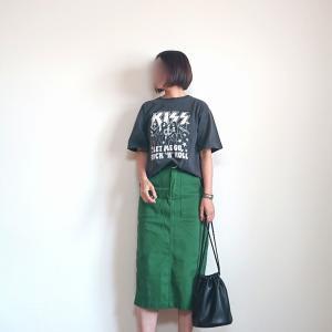 ロックTシャツが新鮮です☆