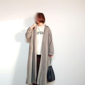 色ちがいで愛用のOMNESのコート☆