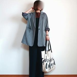 サロペットコーデにジャケットをプラス&想像以上に良かった楽天SS購入品☆