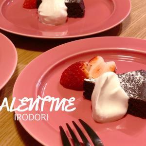 *魔法のお皿9゜を使って10分で完成!バレンタインに作ったしっとり濃厚ガトーショコラと幻のチョコIVAN VALENTIN*