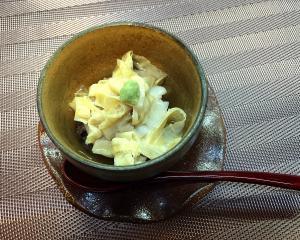 甘鯛と湯葉の飯蒸し