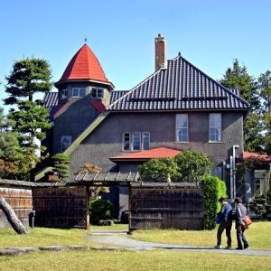 藤田記念庭園の景観(紅葉No4=10/21)