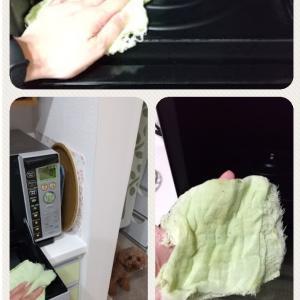 電子レンジ掃除