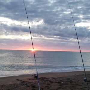 鮭釣り1日目