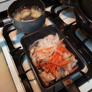 我が家の☆夕食作りスタイル
