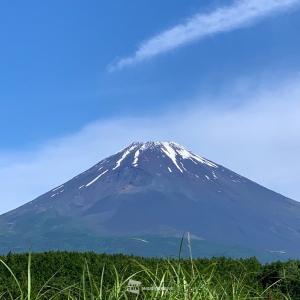 #3213 時知らぬ山は富士の嶺いつとてか・・・他一首