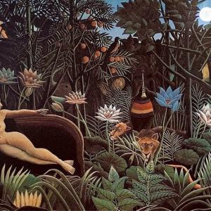 #3221 熱帯夜アンリ・ルソーの森が呼ぶ……他俳句