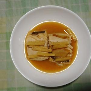 夕飯はさば味噌煮でした