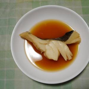 夕飯はたら煮魚でした