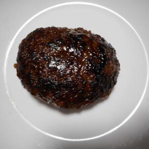 夕飯は手捏ねハンバーグでした