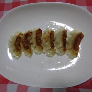 夕飯は宇都宮餃子でした