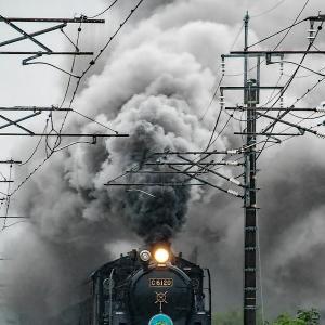 C6120 第2大久保 「梅雨の爆煙」