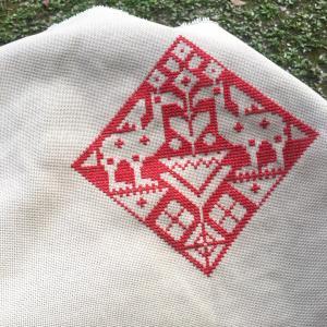区限刺繍高等科 アッシジ刺繍