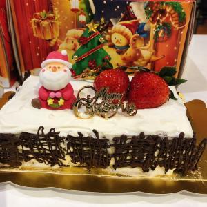 クリスマスケーキとわんこ食育講座