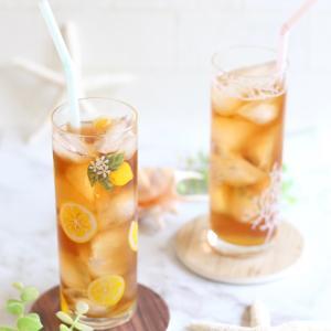 ビタミンカラーの作品から元気をもらえる♪レモン柄グラスと珪藻土コースター