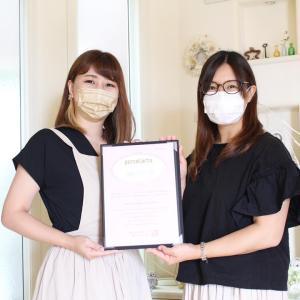 転写紙コース修了おめでとうございます!!