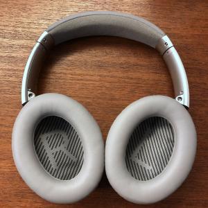 Boseのノイズキャンセリングヘッドホンのクッション交換
