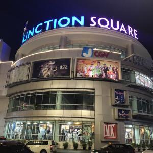 ヤンゴンの「ジャンクション スクエア」に久しぶりに行ってきました
