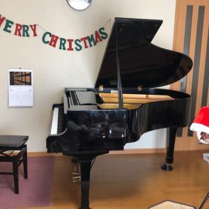 こどもピアノコースのクリスマス会