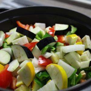 夏野菜で晩ご飯♪