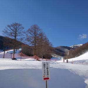 オグナほたかスキー場(1月11日)連休初日