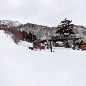 オグナほたかスキー場(1月12日)連休真ん中