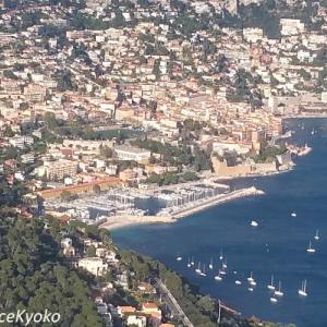 空から見る南フランス