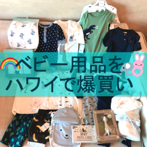 【爆買いショッピング】ハワイで激安ベビー服&用品を買うならココ!オススメショップを紹介