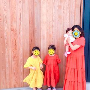 3姉妹ママ。お宮参りの話2