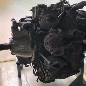 信州ツーリング その8 河口湖自動車博物館 飛行館2 エンジン