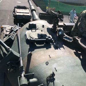宇治駐屯地祭り その4 74式戦車試乗