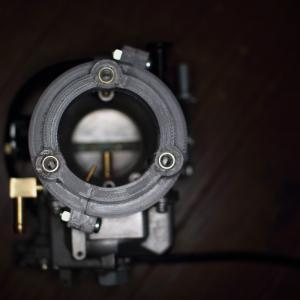 スクリーミンバタフライキャブにBキャブ用エアクリバックプレート取付のアダプタを作った