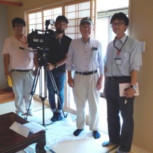 今日は、防災の日です。3年前名古屋テレビから取材を受けました。