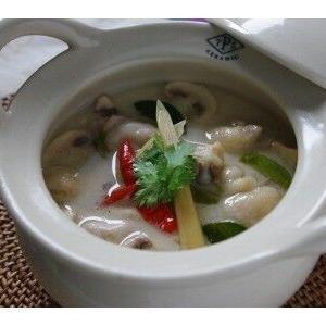 タイのココナッツミルクスープ
