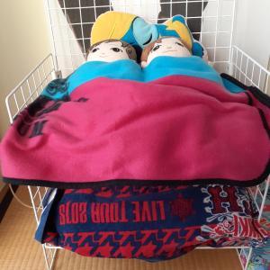 2段ベッド作りました(^^)