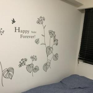 白い壁も悪くない