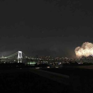 夏の風物詩「東京湾大華火祭」は休止していますが