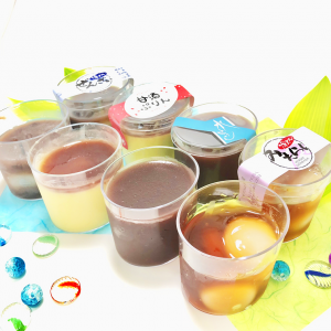 すくって食べるカップ和菓子