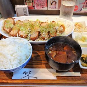 ■赤坂の「ままや」で、デカ盛り和風とんかつ!