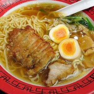 ■有楽町の「万世麺店」で、デカ盛りパーコー麺!