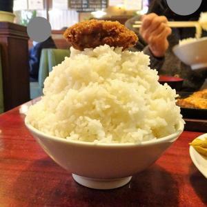 ■小岩の「タクト」で、デカ盛りカキフライ定食!