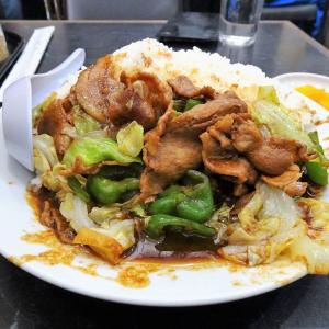 ■北品川の「登龍」で、デカ盛りホイコー飯!