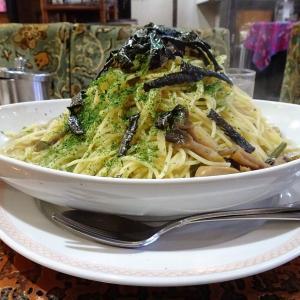 ■小伝馬町の「アーモンド」で、デカ盛りスパゲッティ!