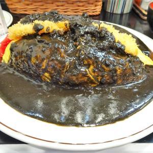 ■池袋の「キッチンABC」で、デカ盛りオムカツカレー!